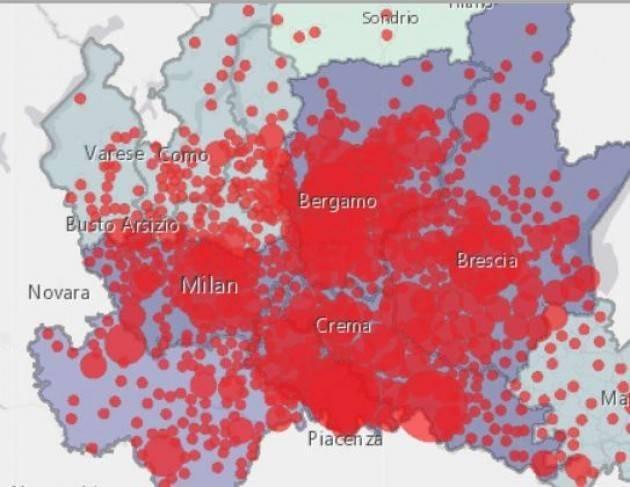 Lombardia: i dati comune per comune