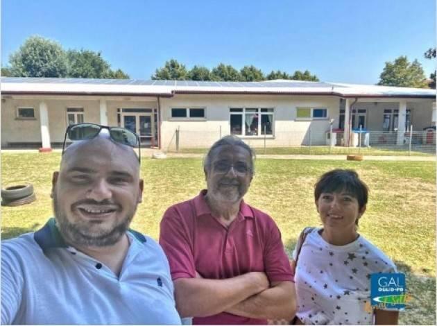 Gussola Realizzato  l'impianto fotovoltaico da 26,4 kWp sul tetto della scuola nido-materna.