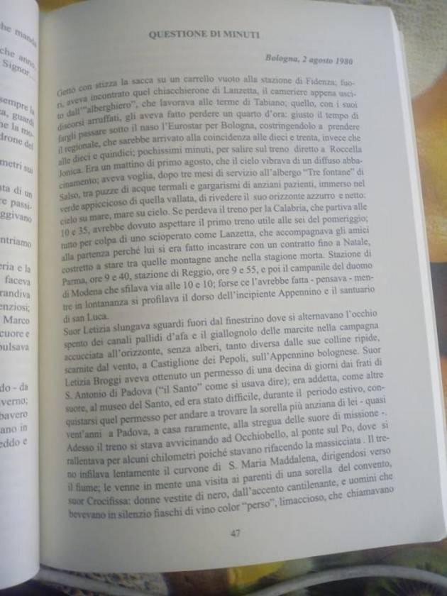 Sfiorato dalla storia. Il 2 agosto 1980 ero a Bologna   Vincenzo Montuori (Cremona)