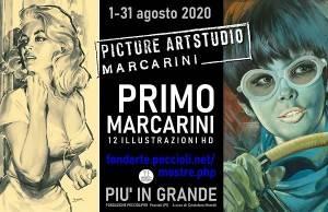 PRIMO MARCARINI - Fiesco (CR) 1920, Milano 1990PICTURE ARTSTUDIO MARCARINI fino al 31 agosto