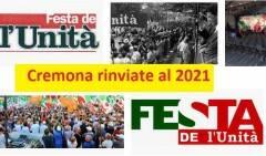 Partito Democratico ESTATE 2020: RINVIATE AL 2021 LE FESTE DE L'UNITA' DI CREMONA E OMBRIANELLO
