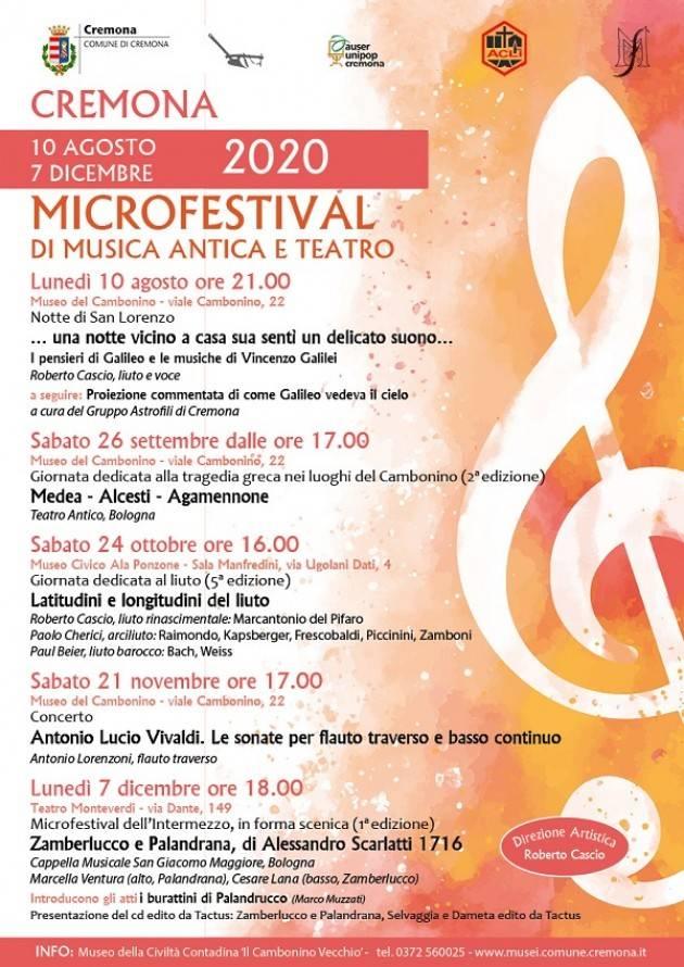 Cremona Notte di S. Lorenzo, suggestivo spettacolo al Museo del Cambonino