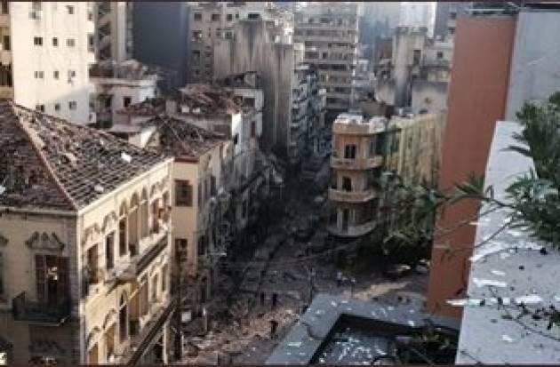 BEIRUT: ATTIVATO IL MECCANISMO DI PROTEZIONE CIVILE DELL'UE