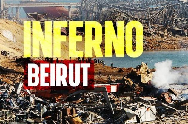 Inferno a Beirut Atrofizzati dalla morte vicina e lontana  Oscar Bartoli (Washington)