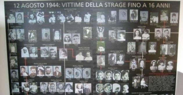 CNDDU   Ricordando il 76° anniversario Eccidio nazifascista di Sant'Anna di Stazzema del 12 agosto 1944