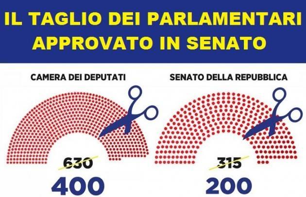 La riduzione dei parlamentari fatto col 'vaffa' soddisfa la pancia | Jacopo Bassi (Crema)