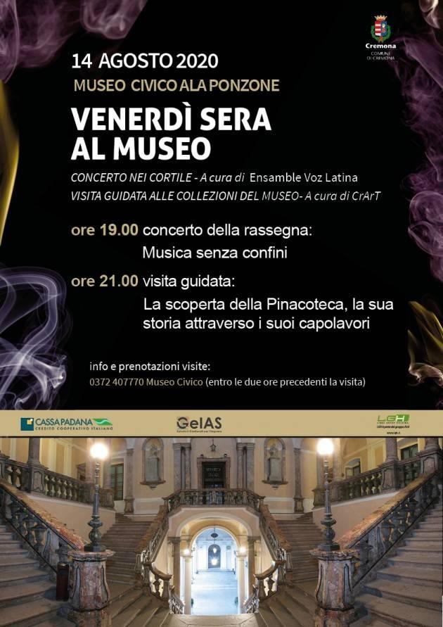 Cremona Il 14 debutto dei Venerdì d'agosto
