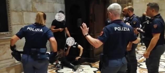 VIDEO ARRESTO - Sequestro di persona in Duomo. Arrestato il responsabile - VIDEO ARRESTO