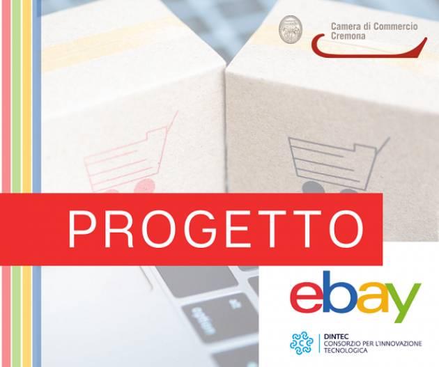 Camera Commercio Cremona annuncia:sistema camerale avviato PARTNERSHIP CON eBay