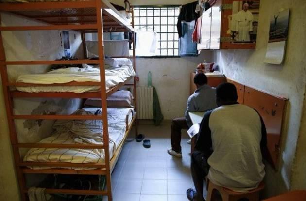 'Ferragosto in carcere' Luciano Pizzetti visita l'istituto di Cremona con  Gino Ruggeri del  Partito Radicale