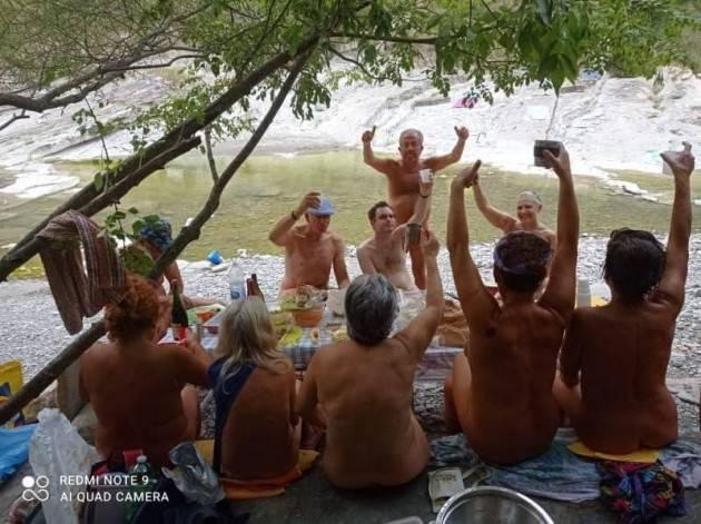 Ferragosto diffuso delle associazioni naturiste italiane andato a gonfie vele