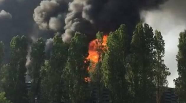 Arvedi Cremona Incendio torre/7 L'ARPA non ha fatto campionamenti aria | Elia Sciacca