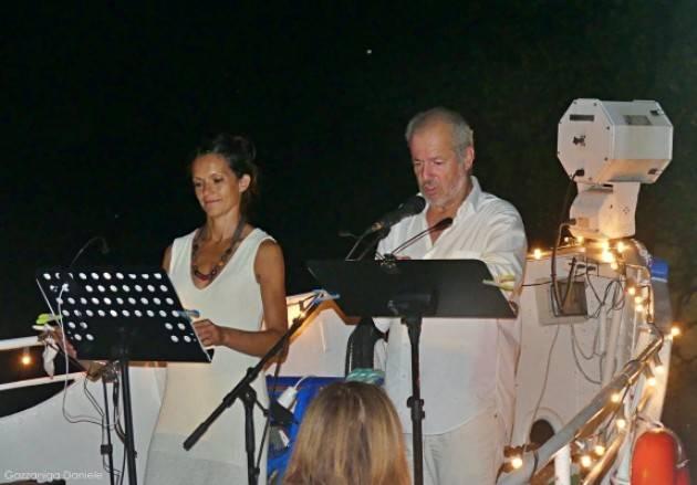 'Letture sul Po' a Gerre dé Caprioli a Cremona, immagini e video della serata.
