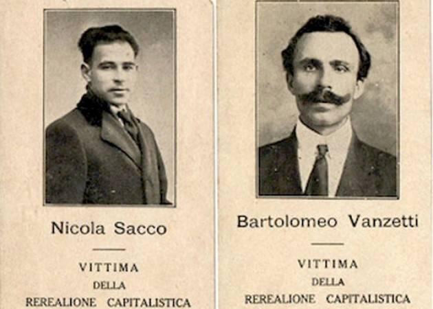 CNDDU  Il 23 agosto 2020 cade l'anniversario di Nicola Sacco e Bartolomeo Vanzetti , ricordiamoli