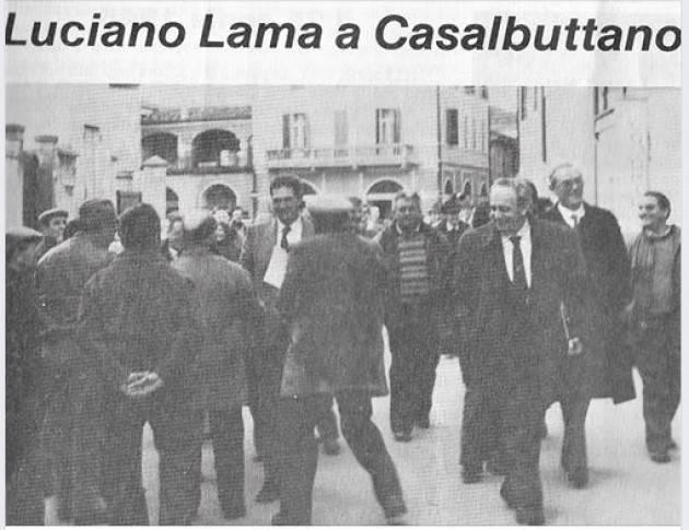 Guido Montagnini Il ricordo di Luciano Lama a Casalbuttano il 23 gennaio 1988