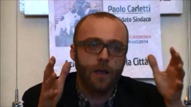 Alleanza PD-M5S Sono d'accordo con Paolo Carletti . E' da fare | Gian Carlo Storti (Cremona)