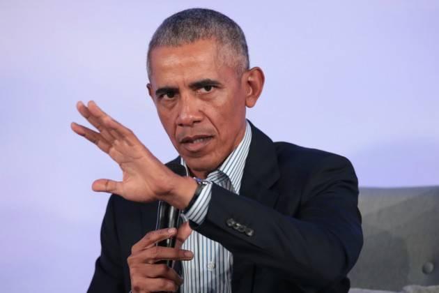 L'ex Presidente degli Stati Uniti Barack Obama è intervenuto in collegamento dal Museo della rivoluzione americana di Philadelphia