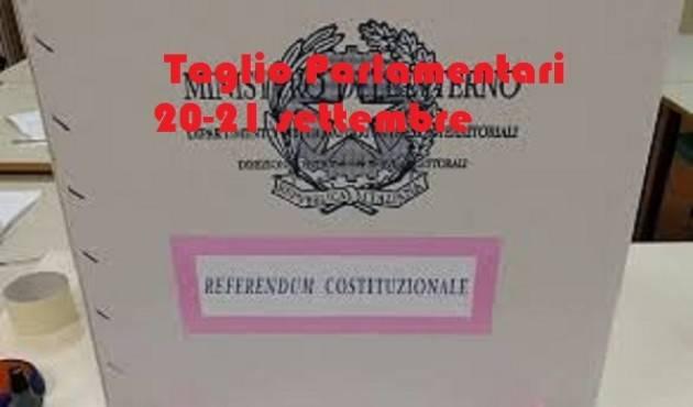 Referendum Taglio parlamentari. PD e M5S snobbano il confronto| Sergio Ravelli (Cremona)