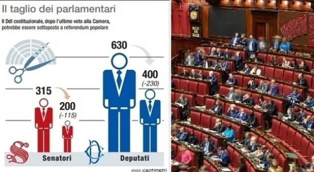 Referendum Taglio Parlamentari. I Democratici voteranno SI ma sono già divisi | Vincenzo Montuori (Cremona)