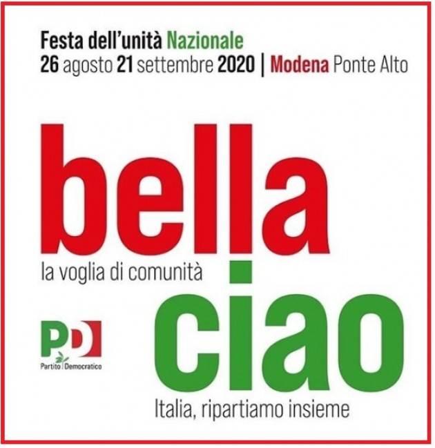 Parte la Festa dell'Unità nazionale a Modena. Dal 26 agosto al 21 settembre. Il programma