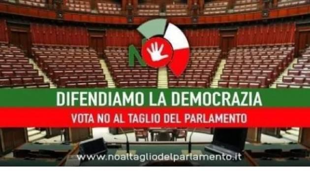 Referendum Costituzionale  20-21 Settembre 2020  Costituzione Comitato Cremonese per il NO