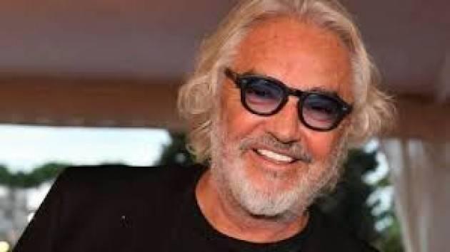 L'Espresso: ''Briatore ricoverato al San Raffaele per Covid in condizioni serie''