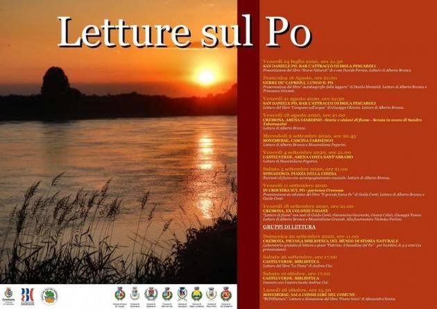 Martedì 2 settembre 'Letture sul Po' fa tappa alla cascina Farisengo - CREMONA -