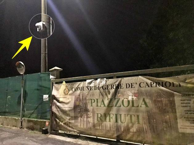 Cremona Tolleranza zero del Sindaco Marchi  GERRE DE CAPRIOLI  ripresa anche dal TG5