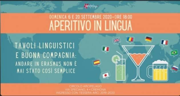 Cremona Circolo Arcipelago  Aperitivo in lingua