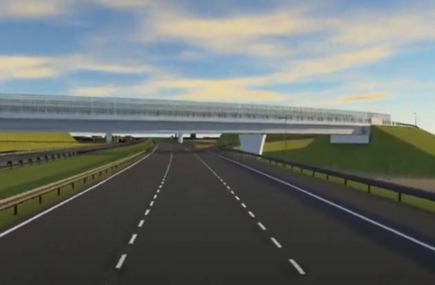 Autostrada Cremona Mantova Presentato progetto: sarà lunga 66,3 Km e costerà 883mil,pronta 2027/28 (Video)