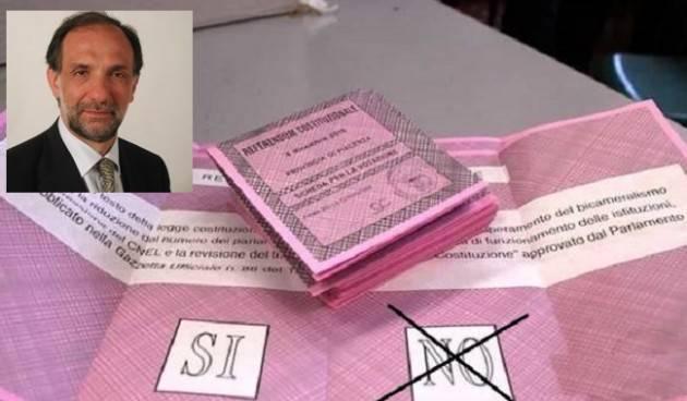 Paolo Bodini (art.Uno) Al Referendum Taglio Parlamentari io voto  NO! [Telefonata]