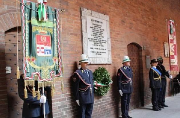 Cerimonie per la commemorazione dell'8 settembre