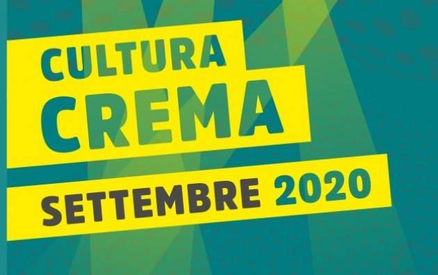 Le proposte  di settembre di CulturaCrema : tra continuità e novità in vista dell'autunno