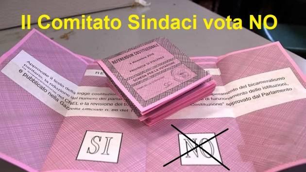 Nasce a Cremona il Comitato nazionale di Sindaci e Amministratori Locali per il NO al referendum  taglio parlamentari