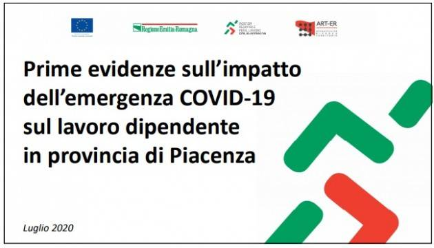 L'IMPATTO DELL'EMERGENZA COVID-19 SU PIACENZA: CALO DELLE ASSUNZIONI E BOOM DELLA CASSA INTEGRAZIONE
