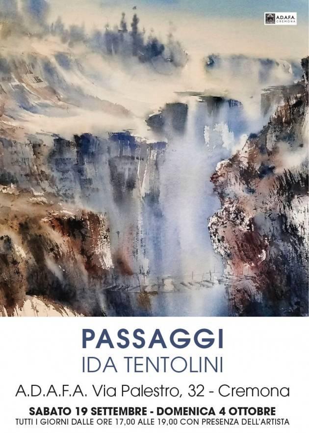 Adafa Cremona IDA TENTOLINI con: PASSAGGI