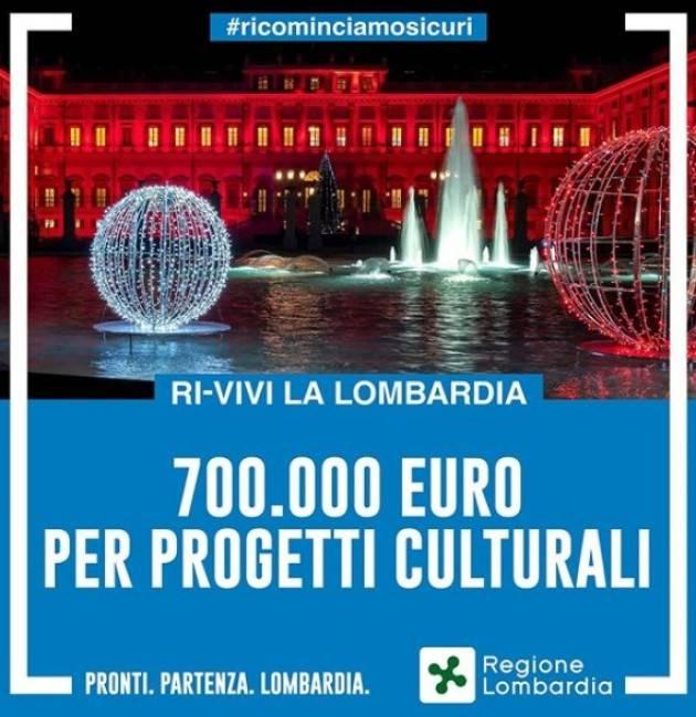 "LombNews Ricominciamosicuri Bando ""Ri-vivi la Lombardia"""