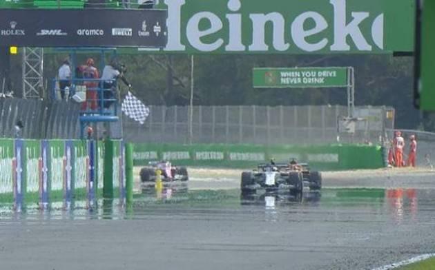 GP Italia a Monza: trionfa Gasly! Battuto Sainz. Ferrari ritirate.