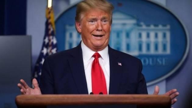 Trump: ''Ho minimizzato la gravità, non volevo creare il panico''