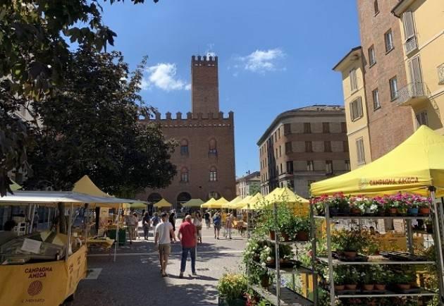 Coldiretti Cremona Domenica 13 settembre il Mercato di Campagna Amica in piazza Stradivari