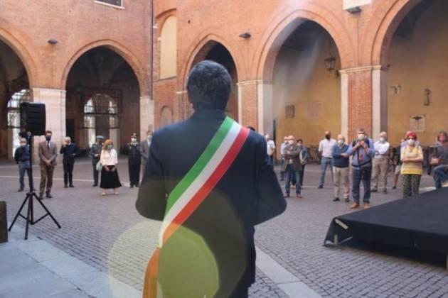Cremona Gianluca Galimberti. L'attualità della celebrazione dell'8 settembre