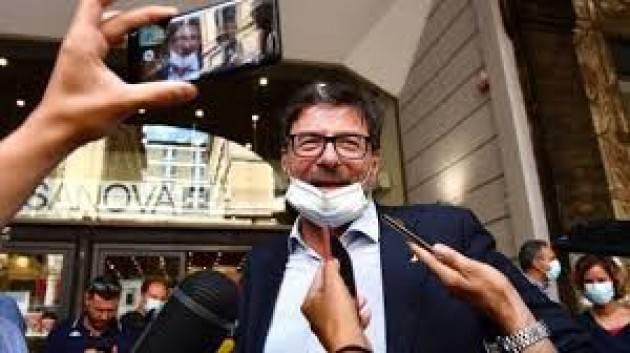 Giorgetti (Lega): Voterò no al taglio dei parlamentari