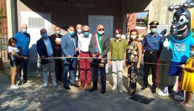 News Sergnano(Cremasco) : casa dell'acqua e illuminazione campo di calcio