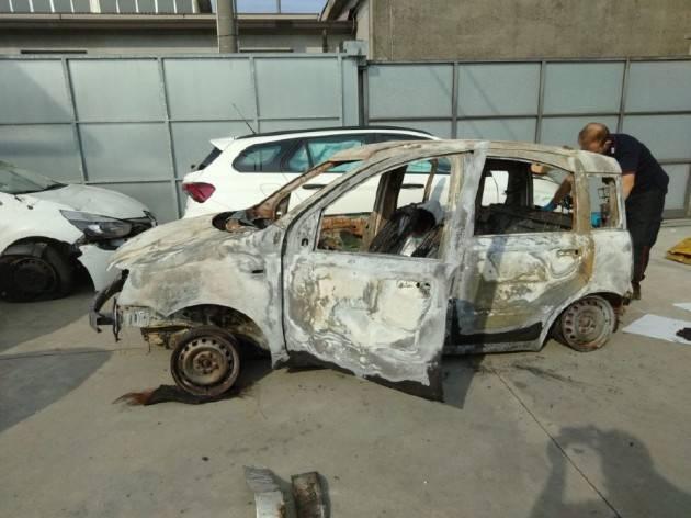 GIALLO VERGONZANA: ALTRI RESTI RITROVATI NELL'AUTO BRUCIATA - VIDEO