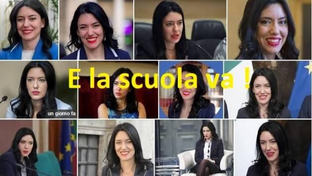 E la scuola  va ! Alcuni disagi  , ma la 'strega ' da bruciare non è la Ministra Lucia Azzolina  | G.C.Storti
