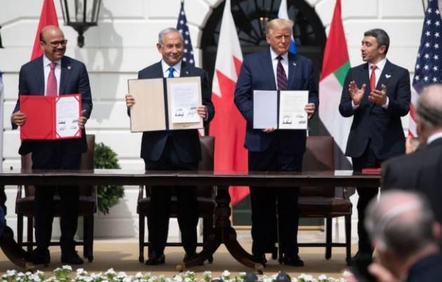 Accordo tra Israele, Emirati e Bahrein firmato alla Casa Bianca
