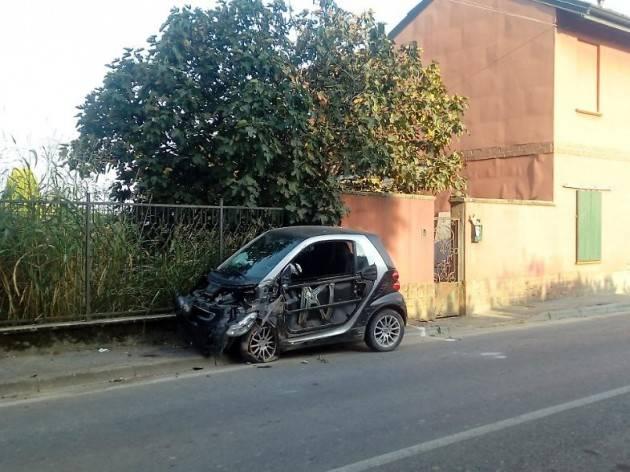 CREMONA- INCIDENTE AD ANNICO. ARRIVA L'ELISOCCORSO MA LO RIFIUTA