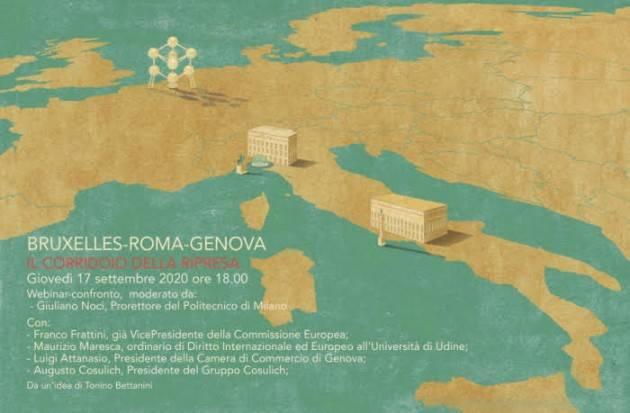 Bruxelles-Roma-Genova. Il corridoio della ripresa