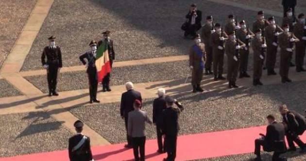 Mattarella riceve Steinmeier a Milano