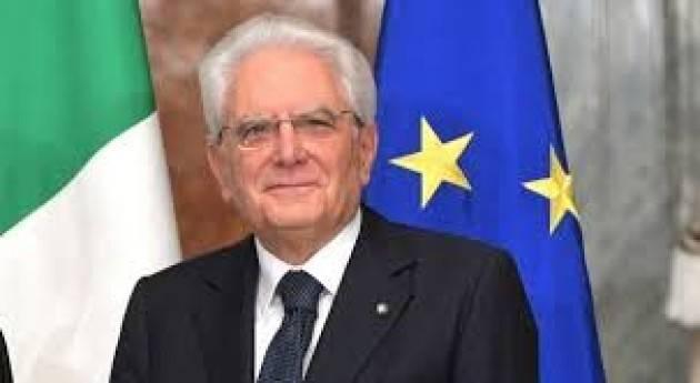 Il 12 novembre sarà a Cremona il Presidente della Repubblica Sergio Matterella